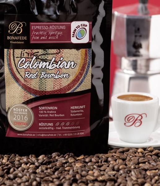 Columbien Red Bourbon, Espresso
