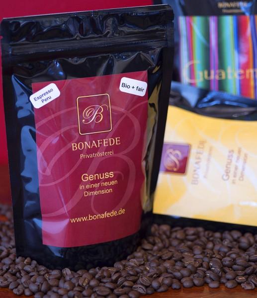 Probierpaket Lateinamerika Espresso (3x 250g)