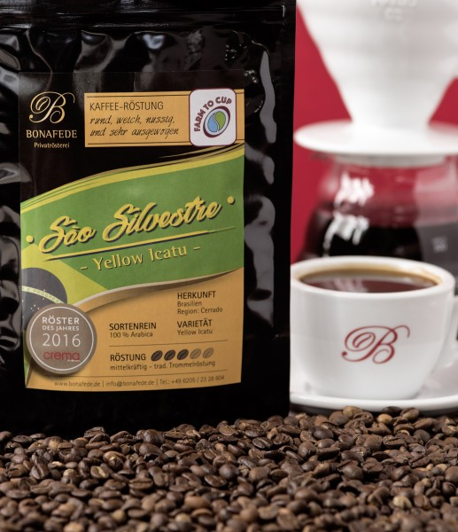 Brasilien Fazenda Sao Silvestre Kaffee