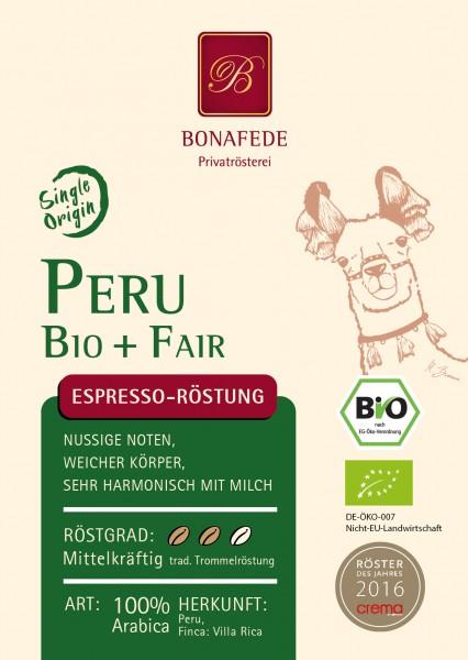 Peru Bio, Espresso