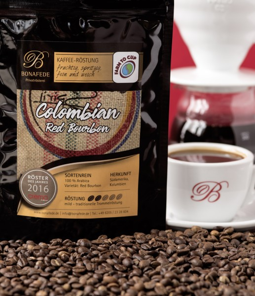 Columbien Red Bourbon, Kaffee
