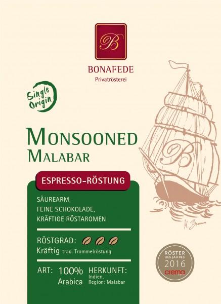 Monsooned Malabar, Espresso