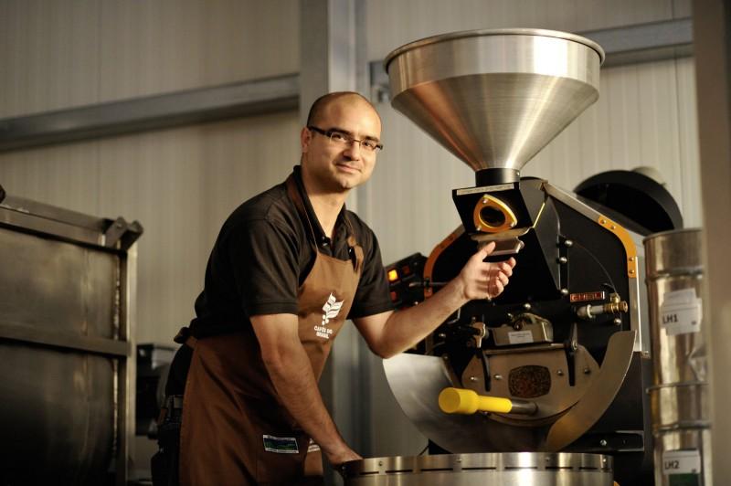 Kaffeeroesterei-Bonafede-Hockenheim-Mahlen